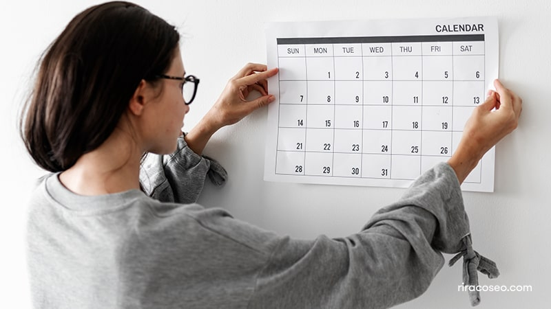 تقویم تولید محتوا و اهمیت آن